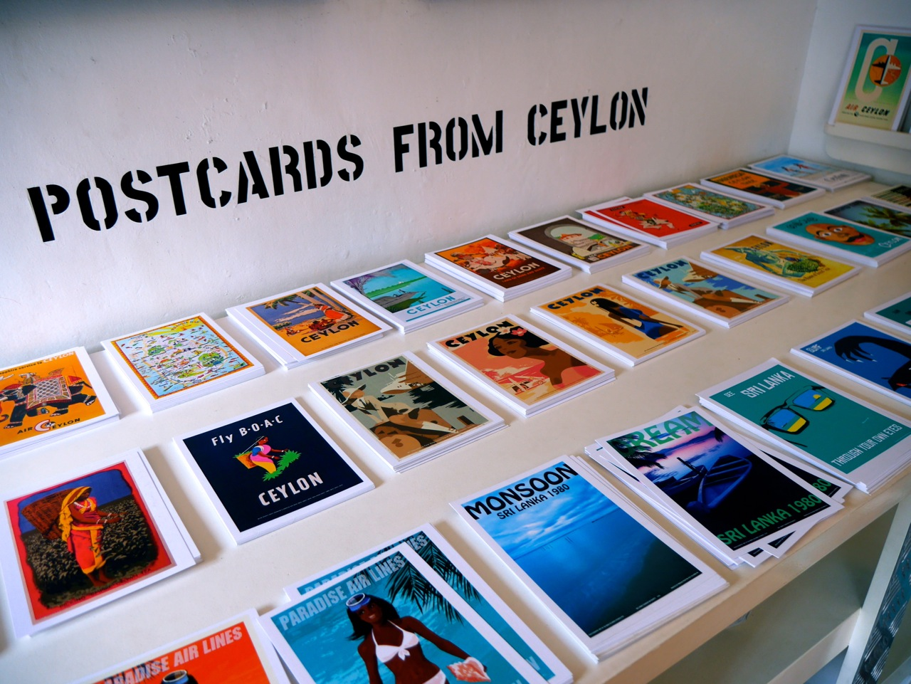 Sri Lanka Galle old City sticknobills postcards malindkate