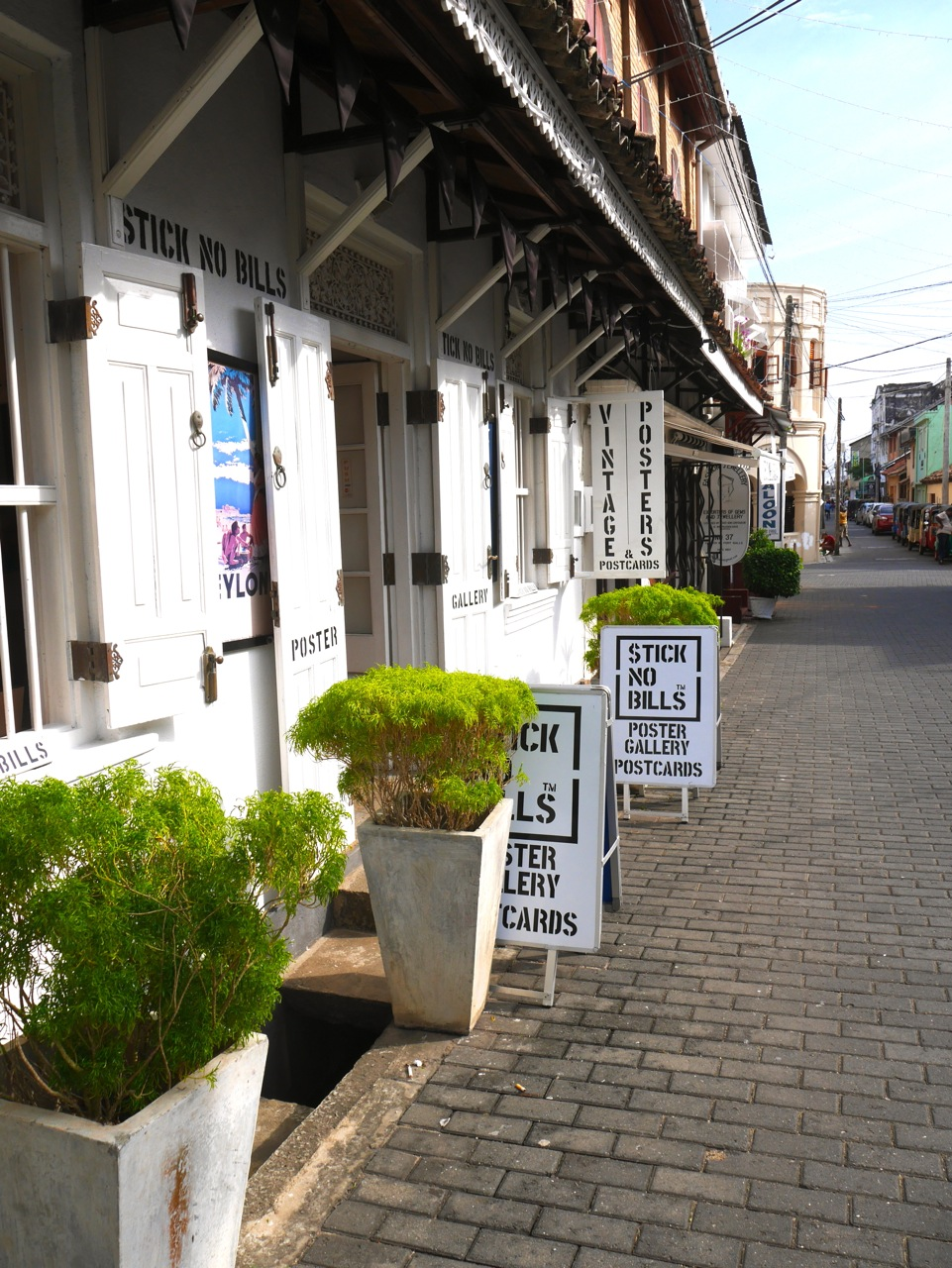 Sri Lanka Galle old City sticknobills