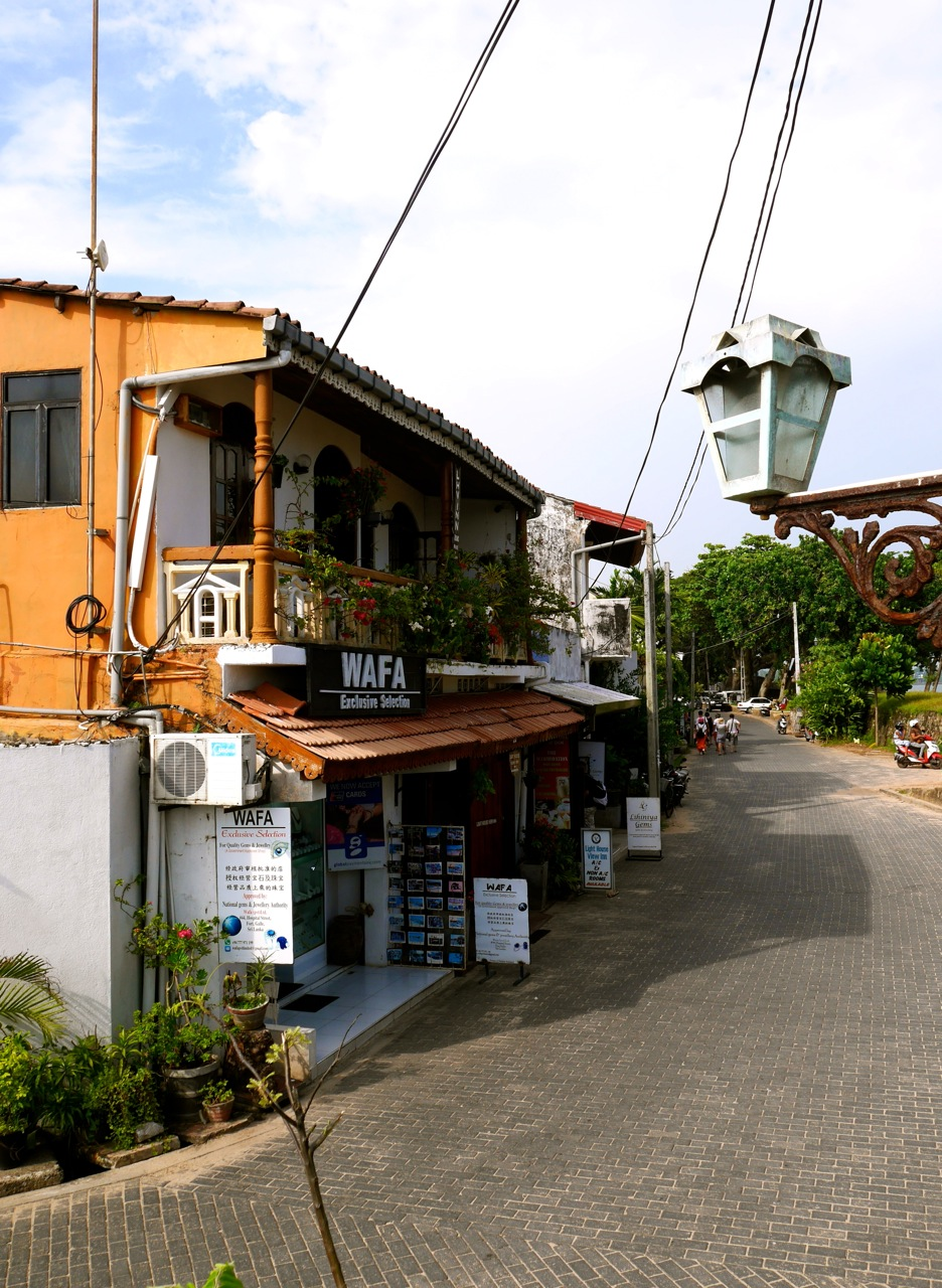SriLanka Galle old city part