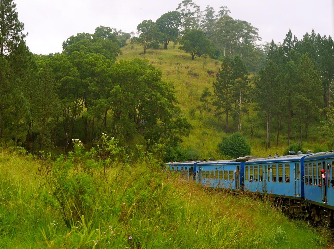 Sri Lanka Trainride