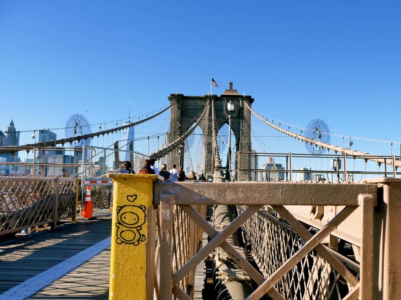 New York Brooklyn Bridge sweet malindkate