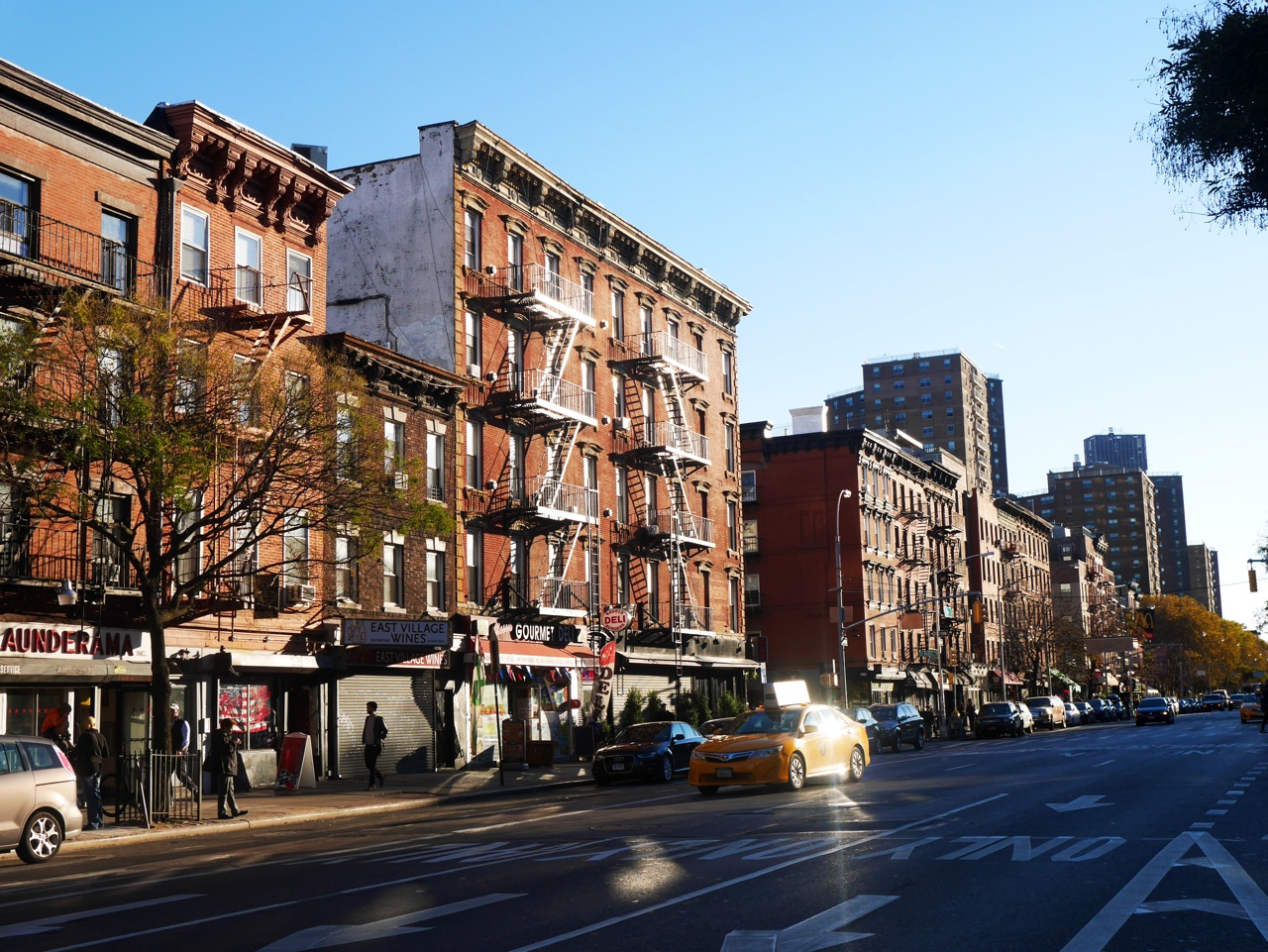 New York East Village Street malindkate