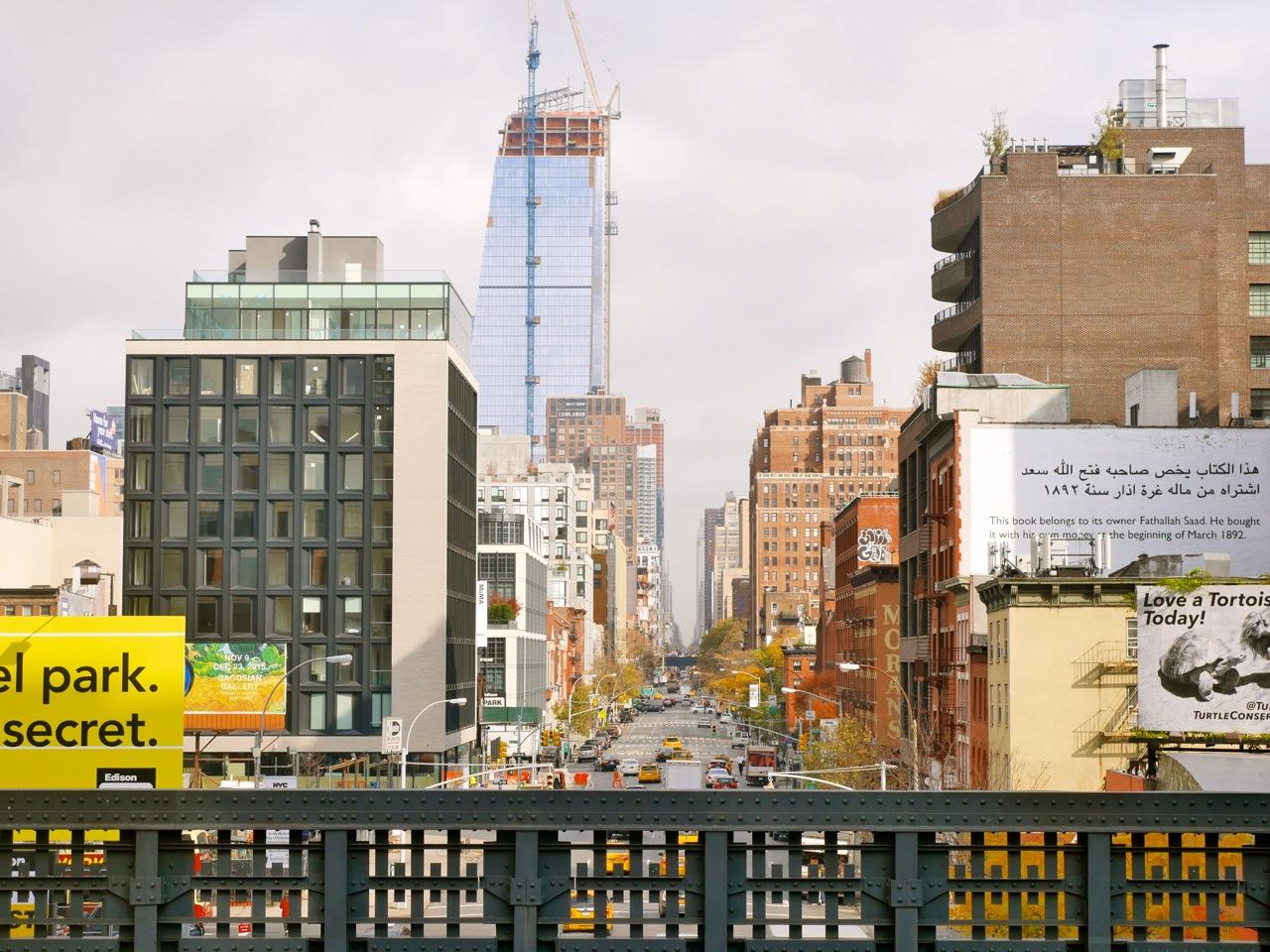 New York City Highline Park malindkate