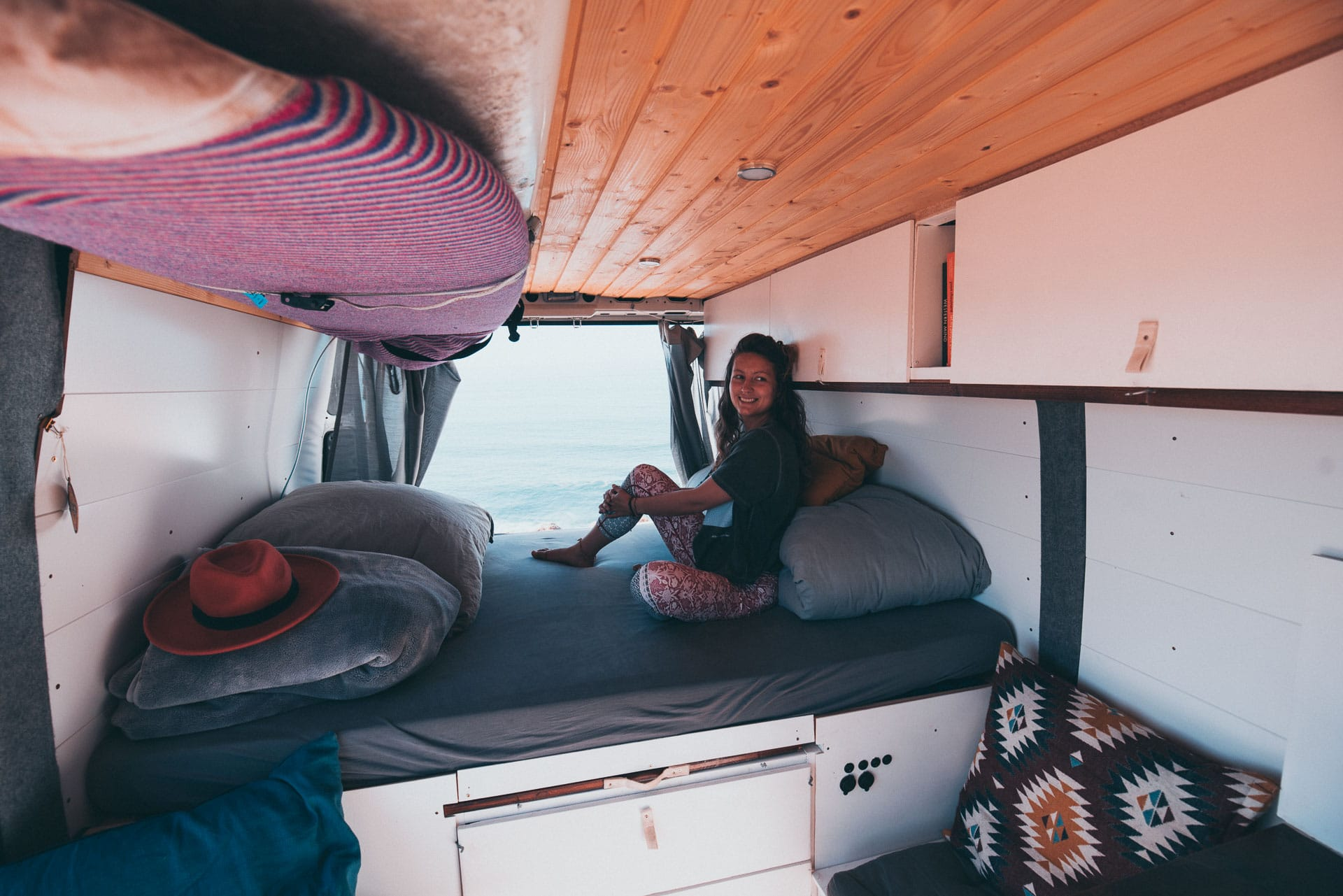 Vanlife Girl Travel Campervan conversion