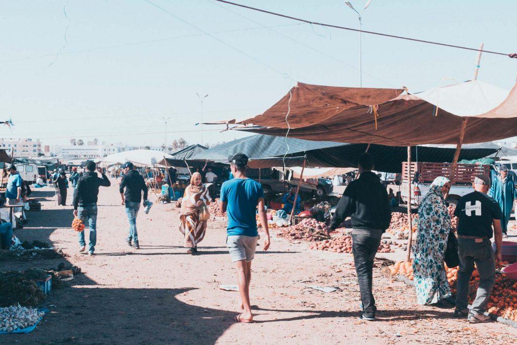 Souk Sidi Ifni Morocco