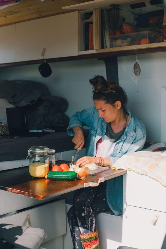 Vanlife Cooking Spain
