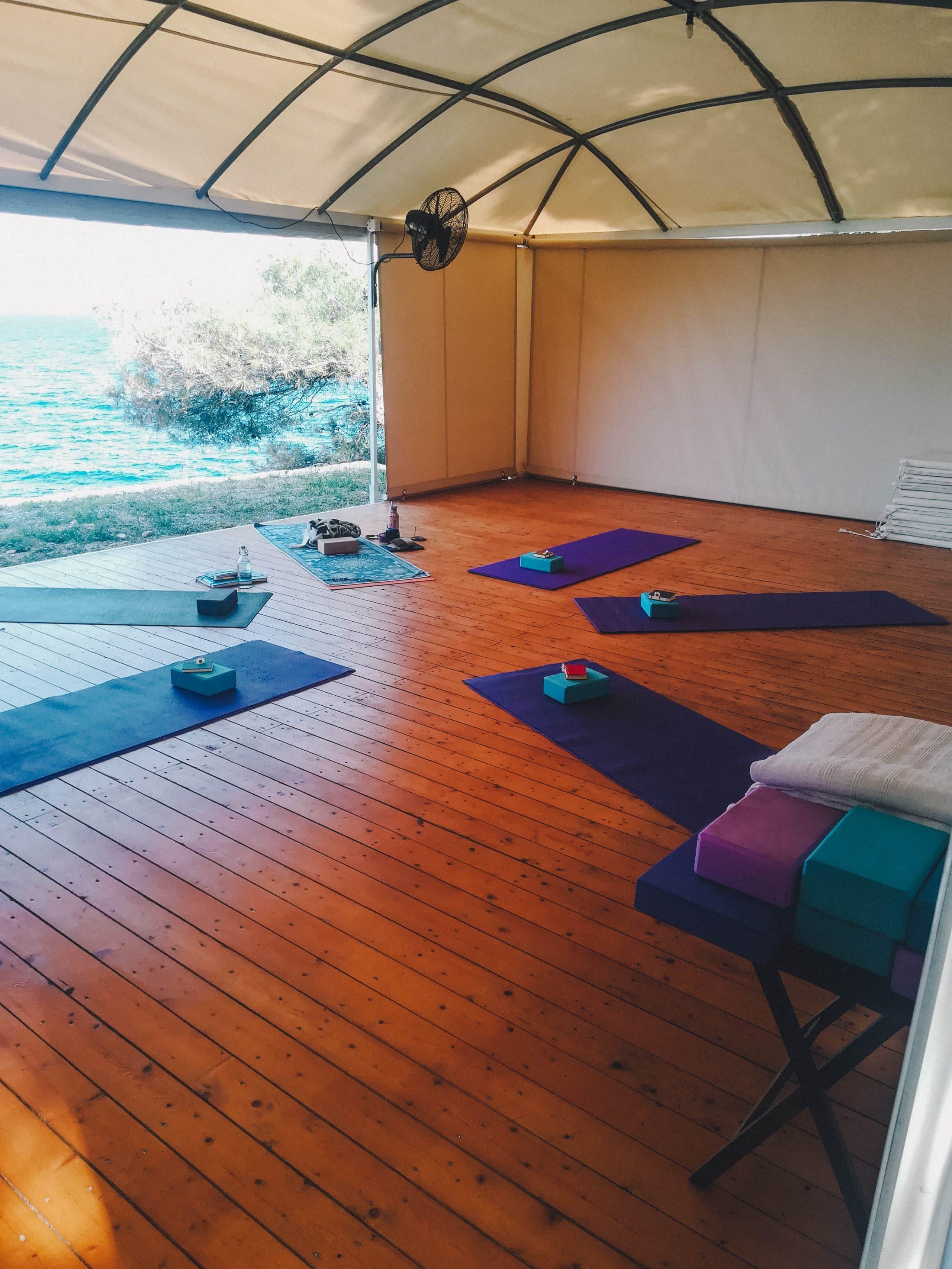 Yoga Shalla at Greek Island Yoga Retreat