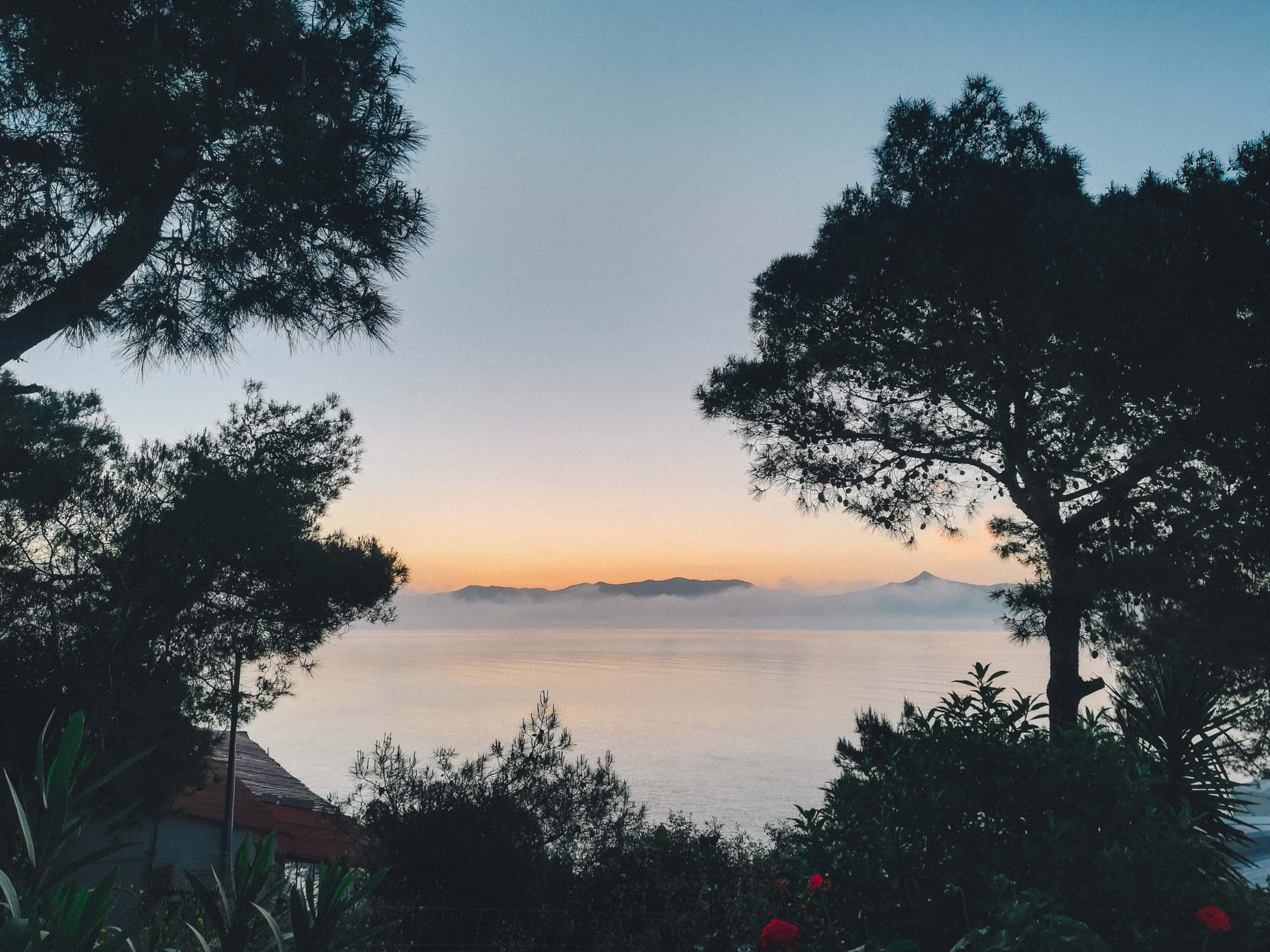 Greek Island Yoga Retreat sunrise